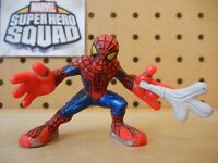 Marvel Super Hero Squad AMAZING SPIDER-MAN One Hand Web of Escape Lizard's Lair