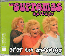"LAS SUPREMAS DE MOSTOLES ""ERES UN ENFERMO"" RARE SPANISH PROMO CD SINGLE"