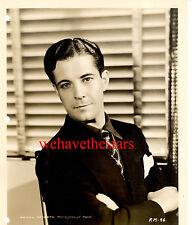 Vintage Ramon Novarro HANDSOME SEXY 30s MGM Publicity Portrait