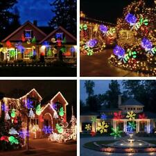 LED Projector Light Motion Outdoor Xmas Landscape Holiday Lights