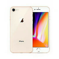 Apple iPhone 8 Gold 64GB 256GB (Unlocked) A1905 (GSM) Smartphone