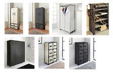 Deluxe non-woven fabric canvas wardrobe multi purpose storage unit organizer.