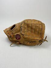 New listing Rawlings Glove Cesar Cedeno RBG4 Softball Baseball Mitt RHT Basket Web, Righty