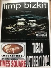 Limp Bizkit Virgin Megastore Times Square Pass October17 2000 Chocolate Starfish