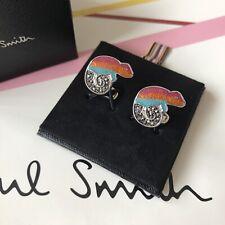 PAUL SMITH Gecko Chameleon Marcasite Cufflinks ~ NEW in Box ~ Genuine