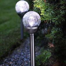 Chrom Gartenbeleuchtungen aus Edelstahl