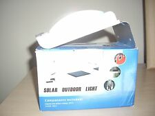 Solar Powered Lamp Outdoor 16 LED Lights Wall Light Ray Sound Sensor