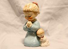 Vintage 1959 Goebel BYJ38 Evening Prayer Girl w Doll Figurine W Germany