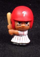 """MLB TEENYMATES ~ 1"""" Batter Figure ~ Series 1 ~ Phillies ~ Minifigure"""