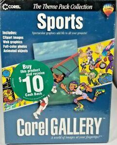 Corel Gallery Sports_Theme Based Clip Art_Brand New