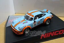 "NINCO 50652 Porsche 911 GULF ""SAN REMO"" #18 1/32 #NEW"