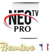 NEO PRO 2 Abonnement 12 Mois / smart tv/ m3u/ Envoi en  5 minutes