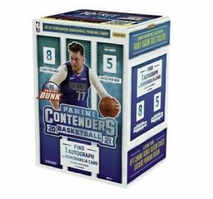 2020-21 Panini Contenders Basketball Blaster Box Factory Sealed 1 Auto Or Mem