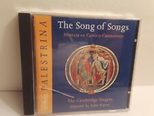 The Cambridge Singers/Palestrina - The Song of Songs (CD, 1994, Collegium)