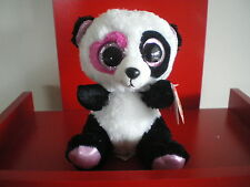 Ty Beanie Boos MANDY the panda 6 inch NWMT. IN HAND NOW.