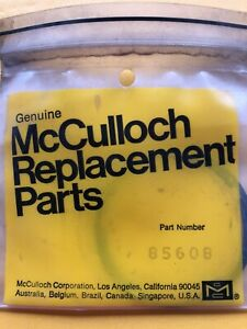 Vintage McCulloch 85608 Piston Ring Set Std Thin Mc 101 101B 101AA  NOS
