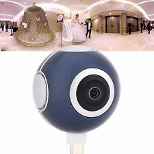 Dual 360°Fisheye Lens Panoramic VR Camera For Samsung Huawei Xiaomi LG HTC DH