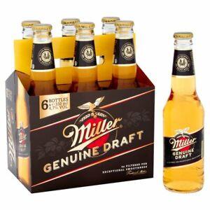 Miller Genuine Draft Cold-Filtered Beer 24 x 330ml