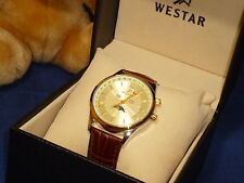 Westar Moon Phase Multi Function Quartz Watch