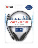 Trust 21867 Auricolare Cuffie Microfono Chat Headset PC LAPTOP TABLET TELEFONO