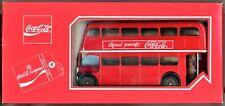 LONDON DOUBLE DECKER BUS - SOLIDO 1/43 COCA COLA -  NEW IN BOX