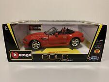 BMW Z3 M Roadster 1:18 Bburago COLLEZIONE GOLD NEW!
