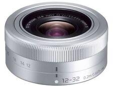 PANASONIC LUMIX G VARIO 12-32mm F3.5-5.6 ASPH Lens Silver Micro 4/3 Bulk Package