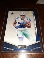 2019 Panini Playoff Tony Pollard Rookie Football Card #236 DALLAS COWBOYS