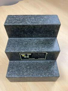 Starrett Tru Stone Corporation Angle Plates 6 x 6 x 6 2-Face Granite, Grade AA