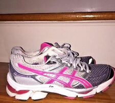 ASICS Gel Cumulus 13 WOMENS ATHLETIC Yoga Hot Pink RUNNING WALKING SHOES Sz 7.5