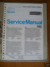 Service Manual Philips VR 6589 Video Recorder,ORIGINAL