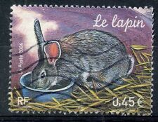 STAMP / TIMBRE FRANCE OBLITERE N° 3662 LE LAPIN