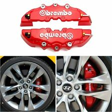Universal 3D Color Red Style Car Brake Disc Caliper Cover Racing Front Rear KI