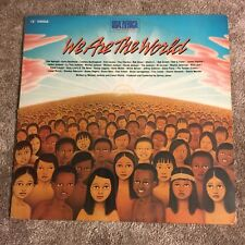 USA For Africa - We Are The World 1985 Vinyl 33