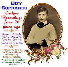 Boy Sopranos - Never Heard in 70 Years! Diehl/Boxall/Davie/Saddler Have a Go!