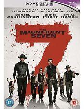 Magnificent 7 Seven DVD Denzel Washington Chris Pratt UK Movie Brand New Film R2