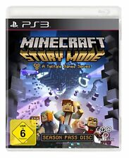 Ps3 Sony PlayStation 3 Game Minecraft Story Mode Enger Boxed