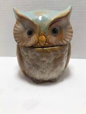 Transpac Ceramic Owl Cookie Jar - Hard to Find