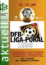Neues AngebotDFB-Ligapokal 1999 FC Bayern München, Hertha BSC, Borussia Dortmund, ...