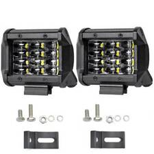72W IP68 LED Work Light Bar Flood Spot Offroad Truck Fog Driving SUV Boat