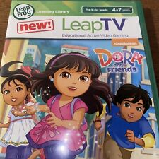 LeapFrog Leap TV Dora And Friends Video Game - Mathematics BRAND NEW