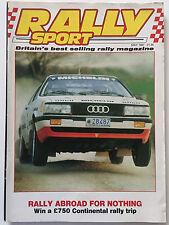 Rally Sport Magazine May 1987