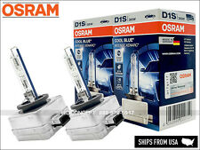 OSRAM D1S Cool Blue Intense 6000K HID XENON bulbs 66140CBI +20% DOT w/TRUST code