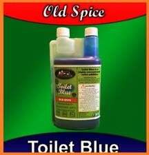 Motorhome/Caravan Toilet Blue Chemical Cleaner 40 Uses Camperlife Old Spice