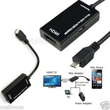 Micro USB to HDMI 1080 P mhl2.0 HDTV Cable Adapter for Samsung Galaxy S6 S5