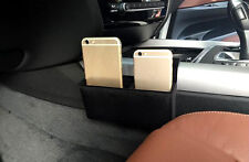 Interior Car Seat Seam storage box Holder 1pcs Black For BMW X5 F15 2014 2015
