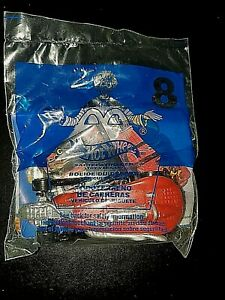 2001 McDonalds Hot Wheels #8 Saltflat Racer Red New In Package Never Opened