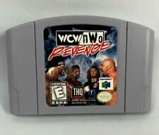 N64 WCW NWO Revenge Video Game Cartridge Rare Vintage Free Fast Shipping