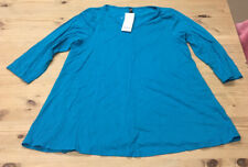 Evans Maternity Top Size UK 14 Blue / Green
