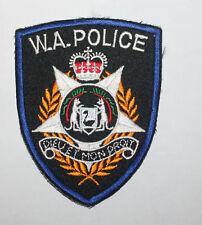 WESTERN AUSTRALIA POLICE AU patch #2